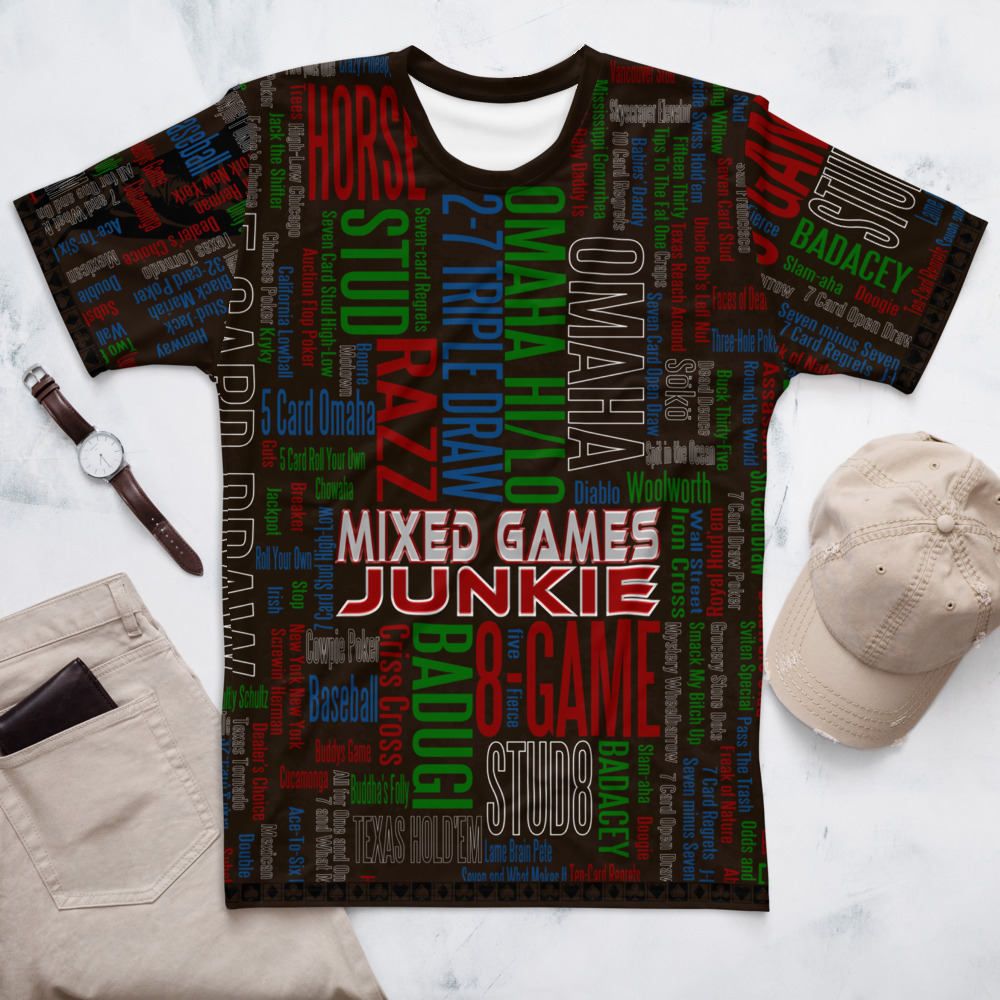 Mixed Games Poker Junkie T-Shirt