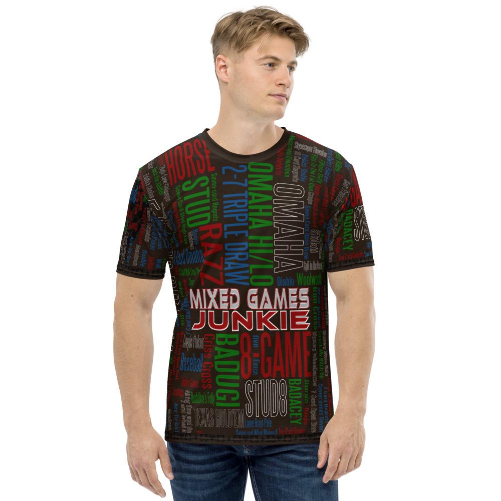Mixed Games Junkie Poker T-Shirt
