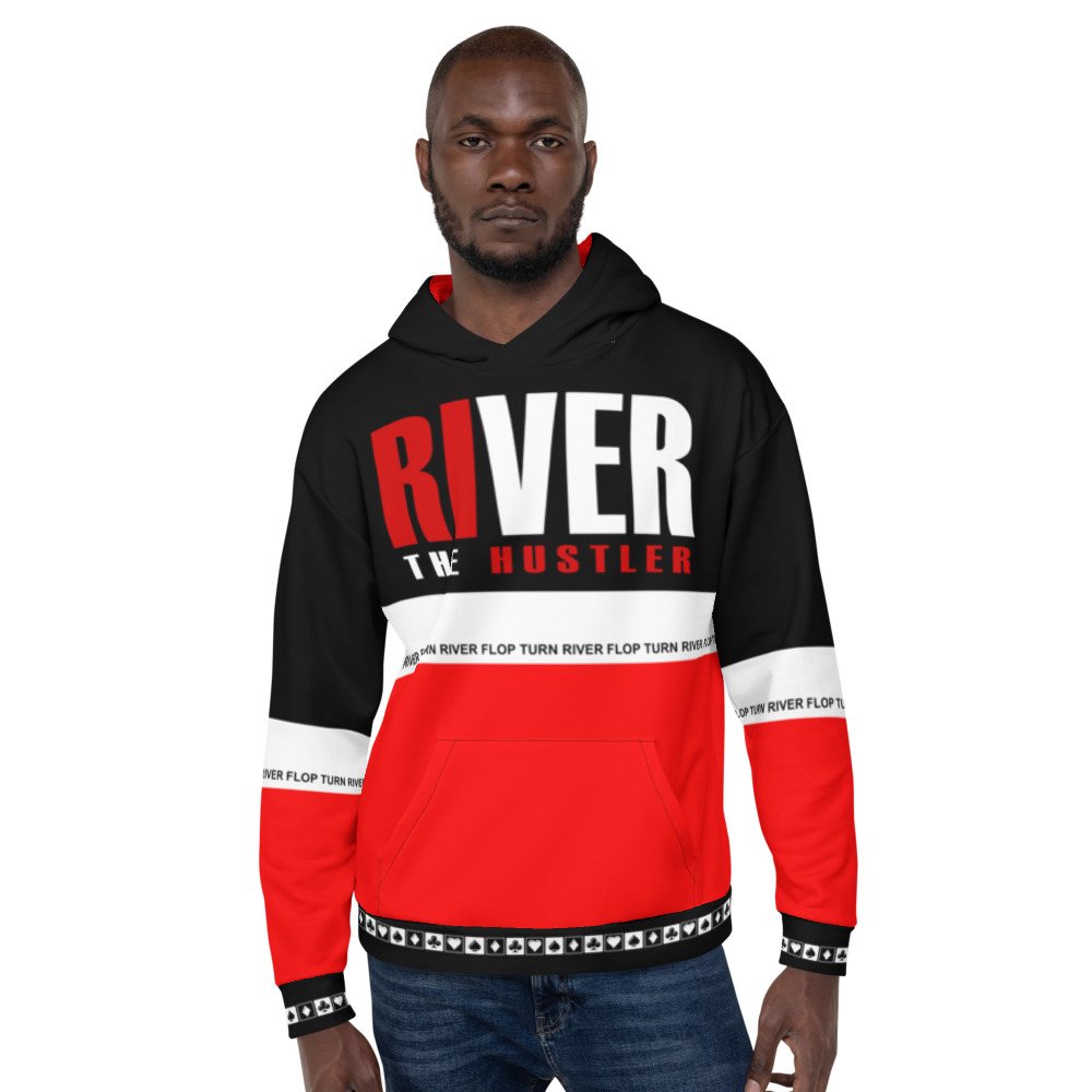 Hustle The River Poker Hoodie
