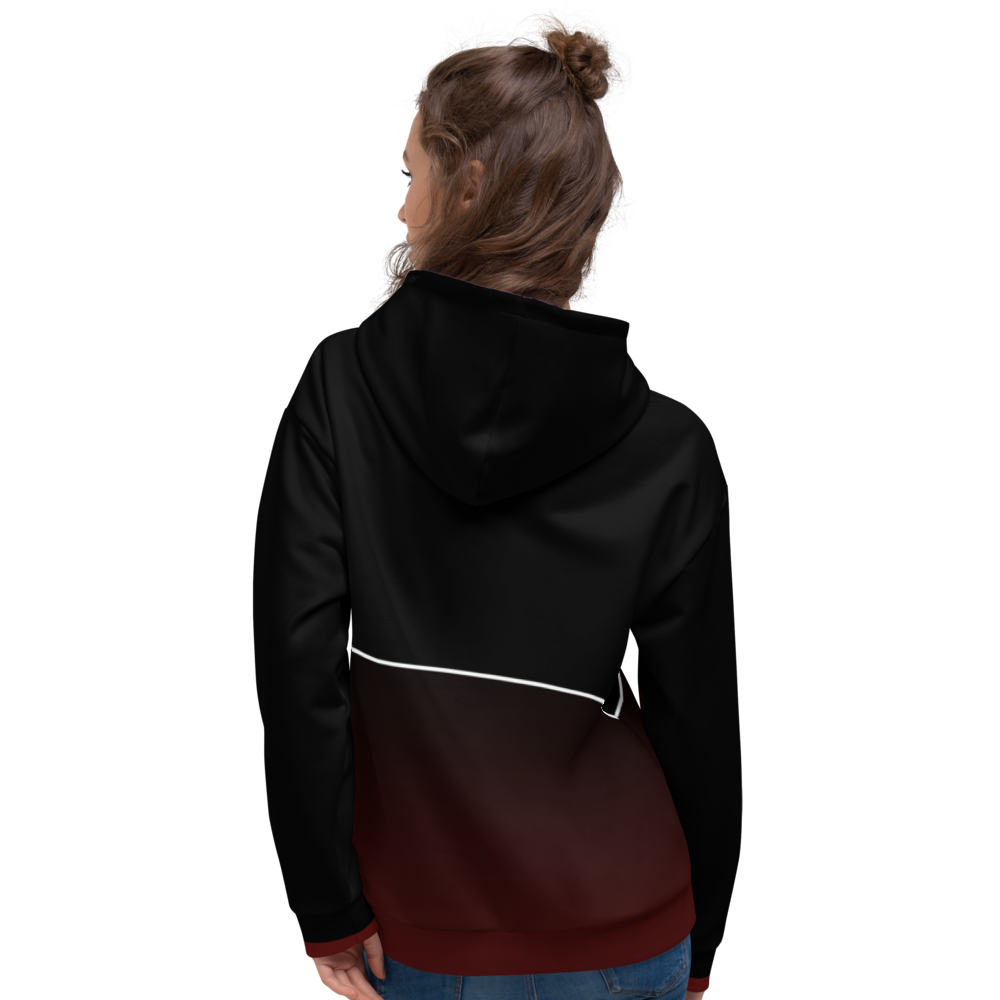 Mixed Games Movement All Over Print Hoodie - Back - Female