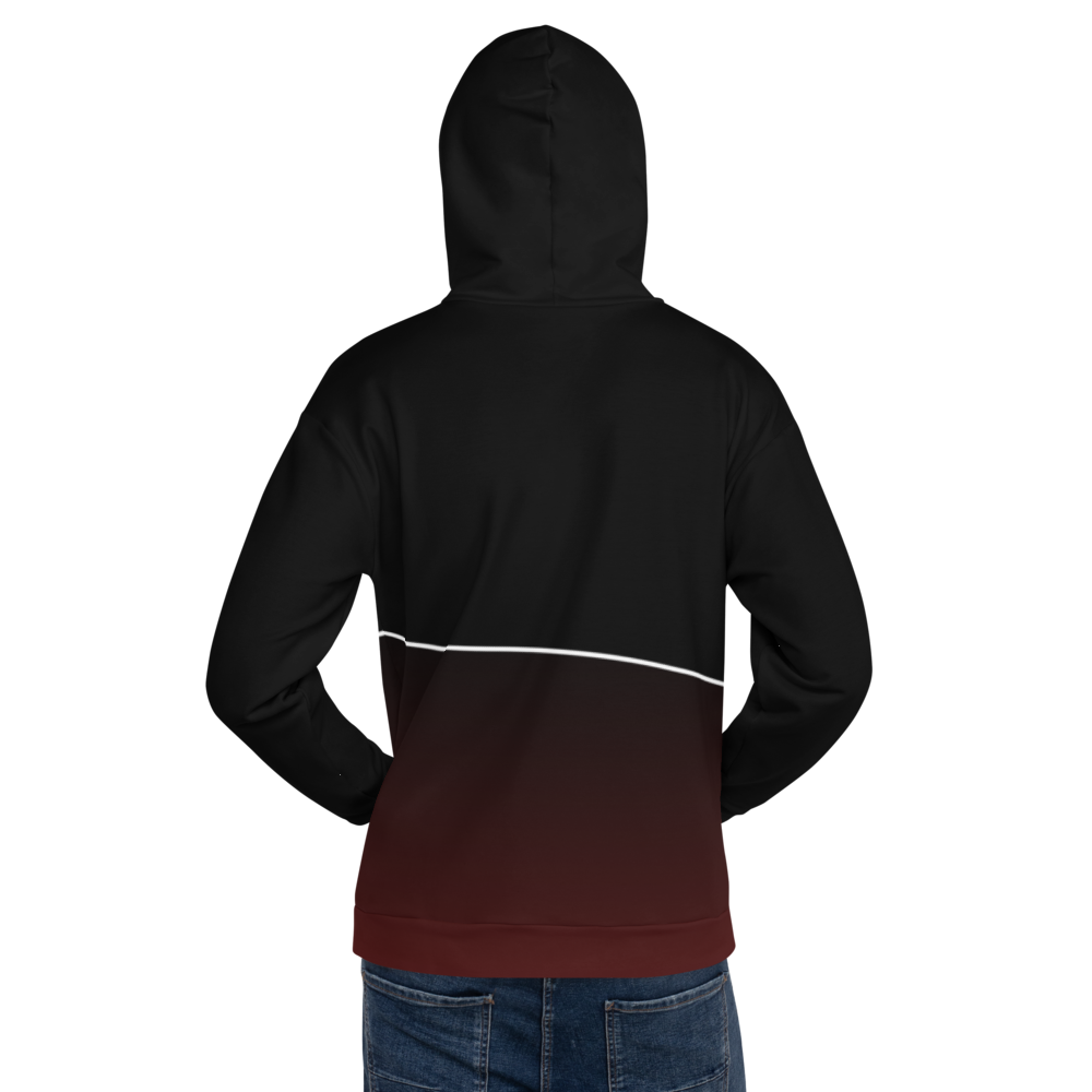 Mixed Games Movement All Over Print Hoodie - Back - Male