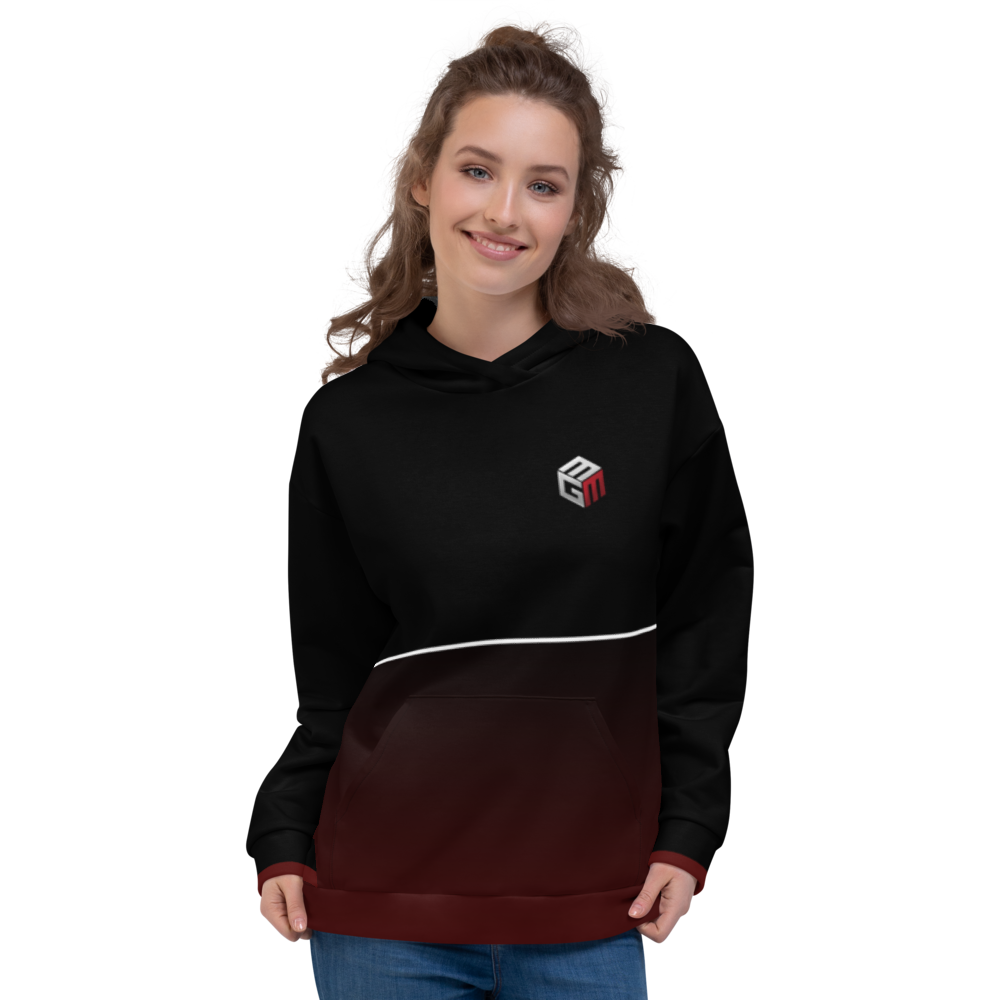 Mixed Games Movement All Over Print Hoodie - Front - Female