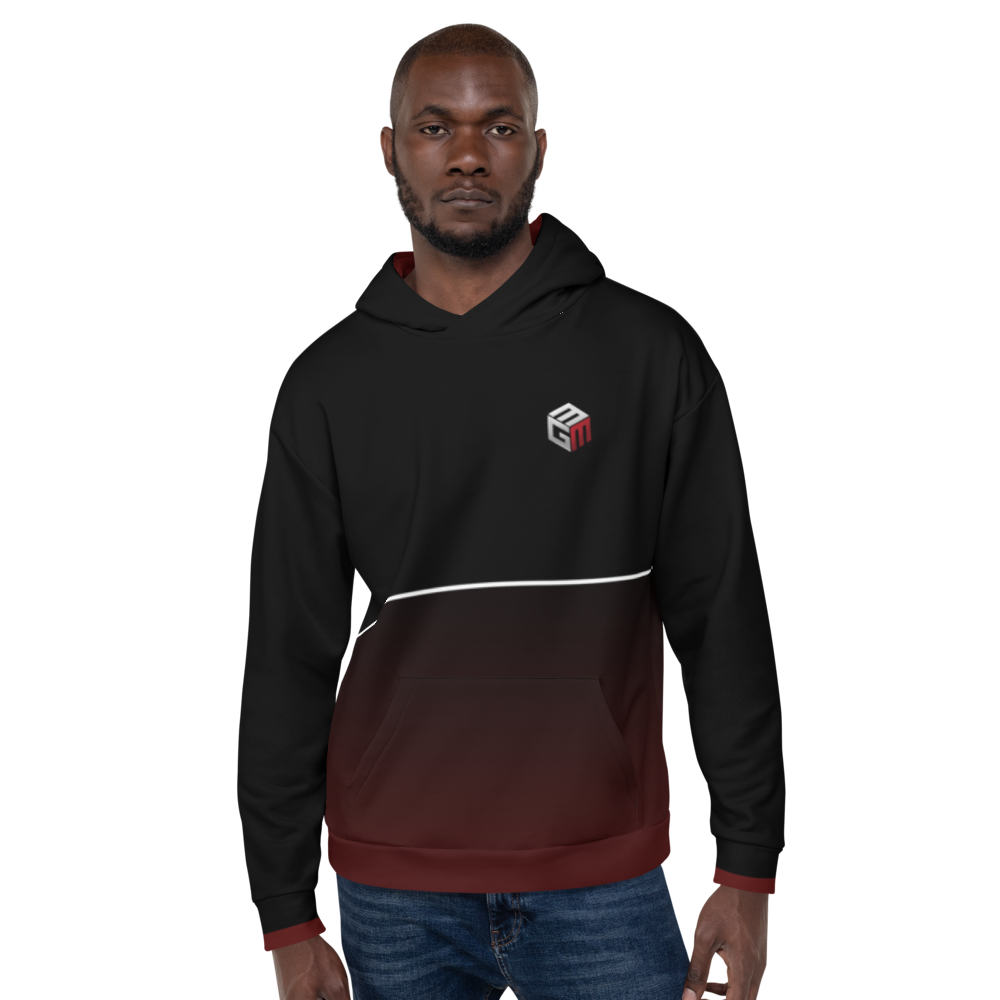 Mixed Games Movement All Over Print Hoodie - Front - Male