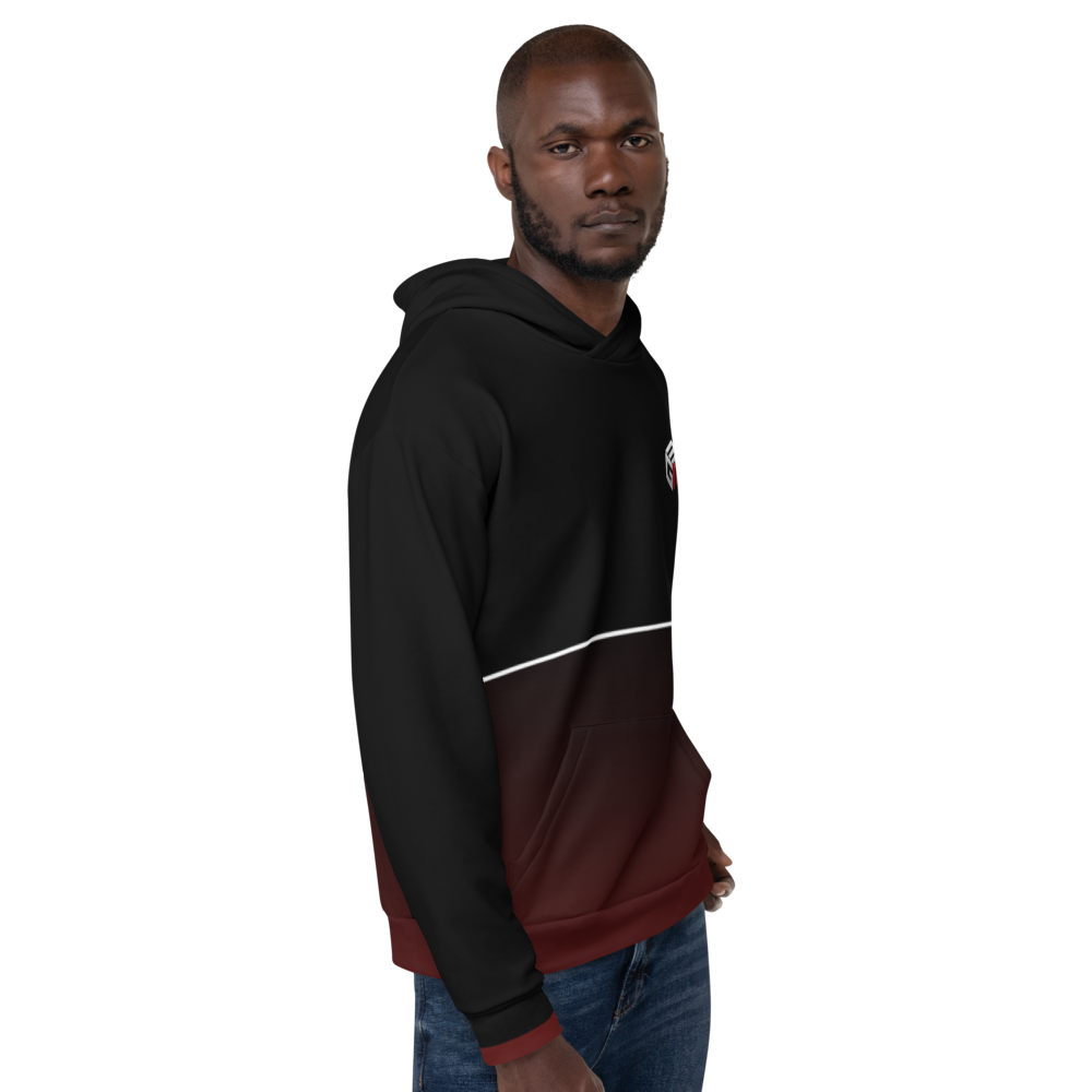 Mixed Games Movement All Over Print Hoodie - Left- Male