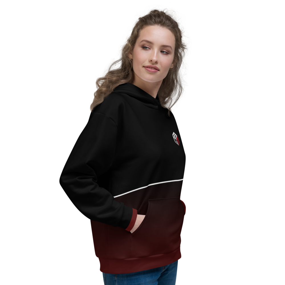Mixed Games Movement All Over Print Hoodie - Right - Female