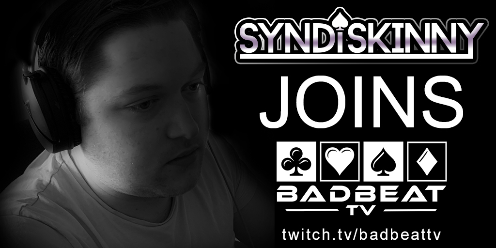 Syndiskinny joins BadBeatTV