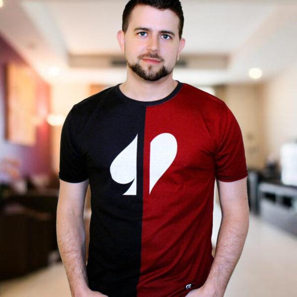 Split Suits Poker T-Shirt