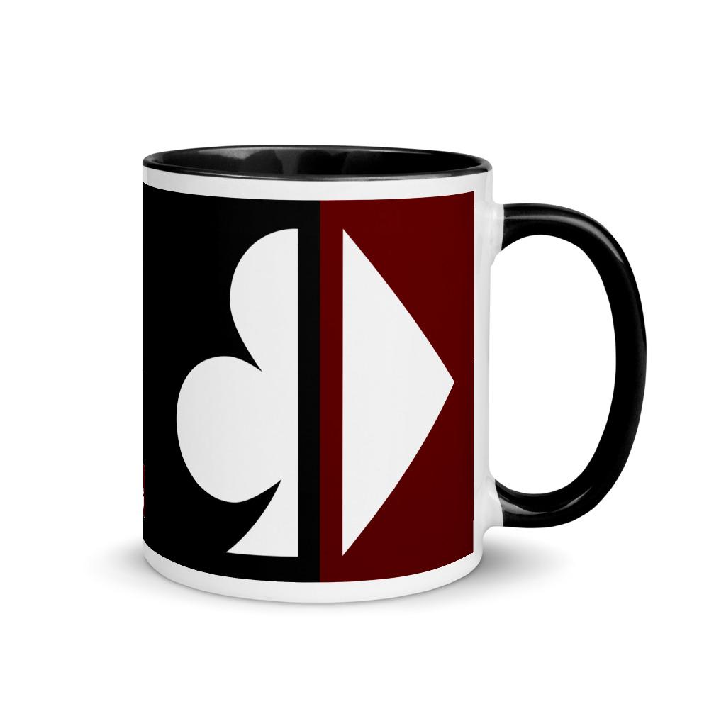 Split Suits Poker Mug Right View