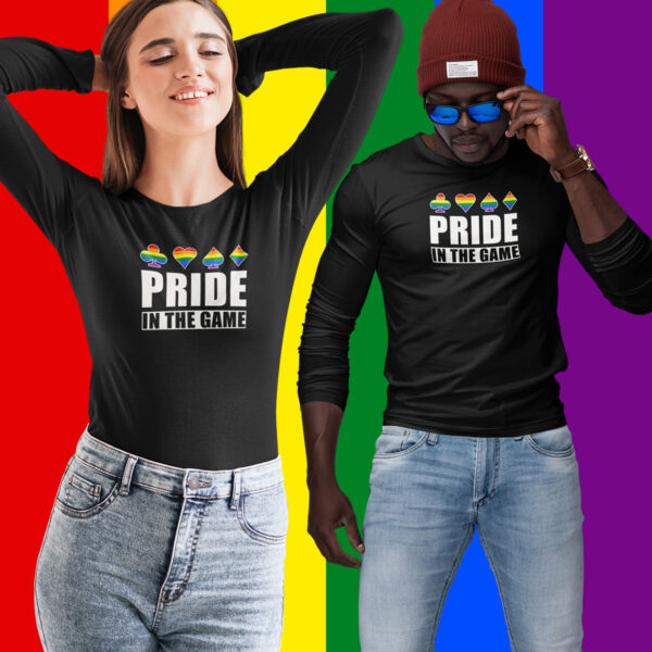 Pride in the Game Long Sleeve T-Shirt