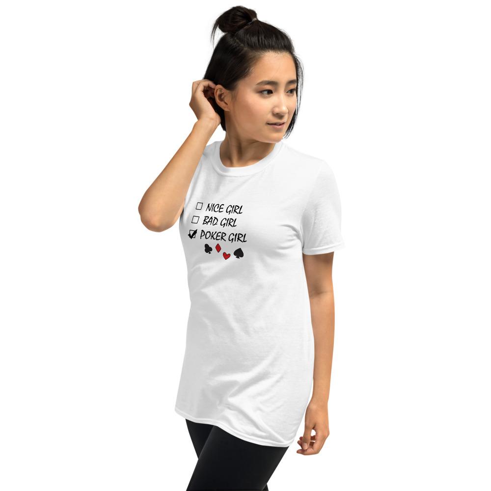 Poker Girl T-Shirt
