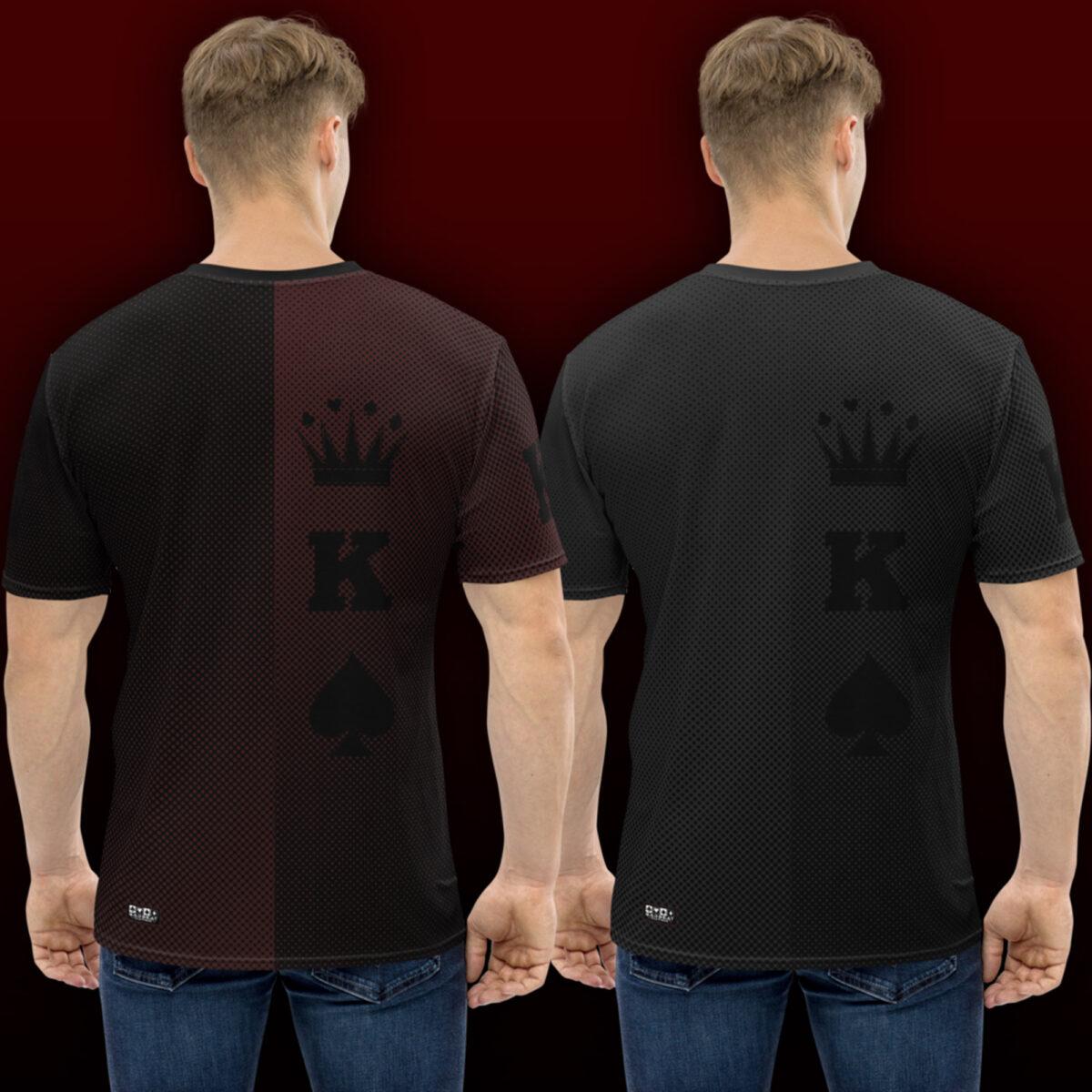 King Poker T-Shirt Back