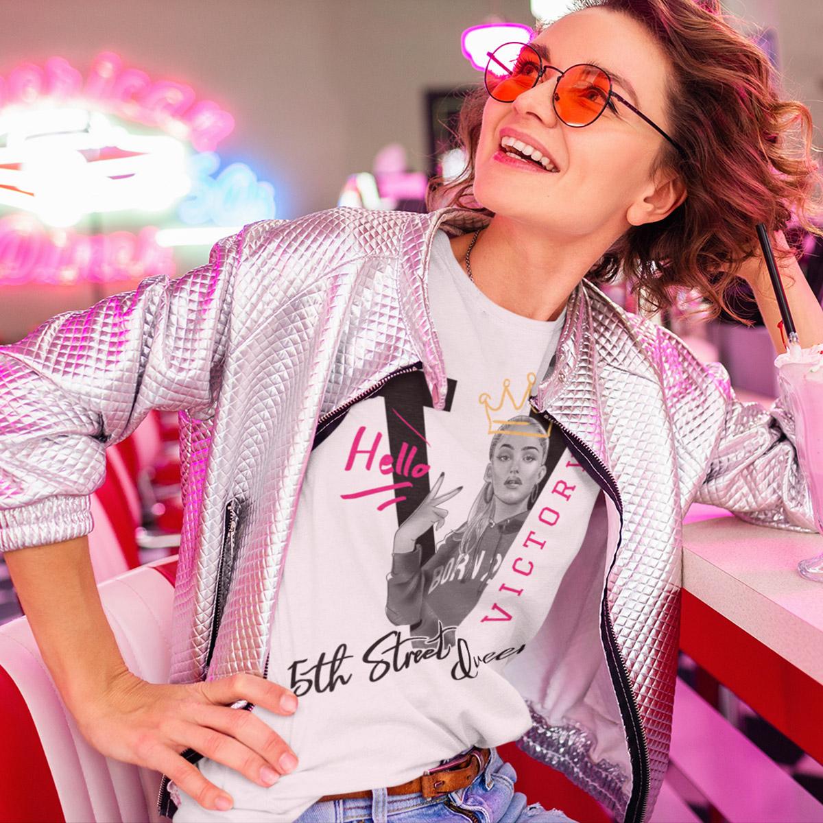 Queen of 5th Street Poker T-Shirt